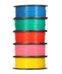 ABS plastic 1.75mm for 3D printers. 1000g.